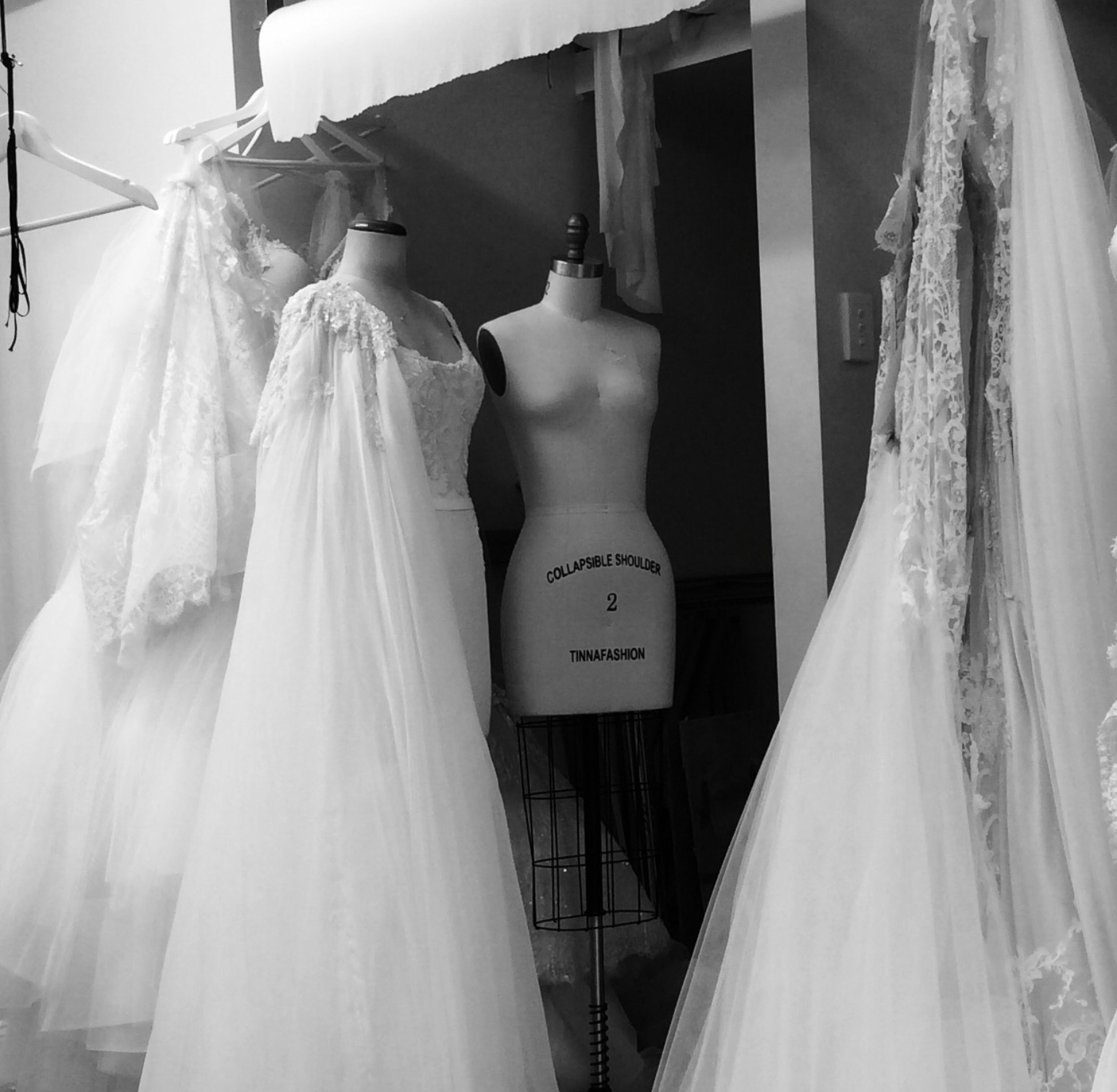 MXM Couture Weddding Dresses In Studio